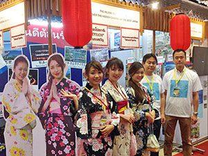 タイ旅行博展示会通訳